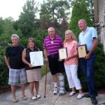 Rep. Gobi with the Joseph J. Camarda Fellowship Award recipients, Robert and Claudia Tytula, Tom Shnare and Cindy Larson.