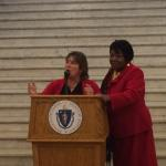Sen. Gobi and Rep. Fox Host Go Red for Women Day at the State House